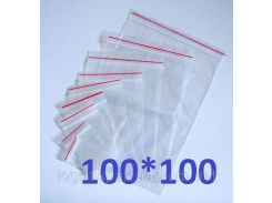 Пакет Ziplock 100x100