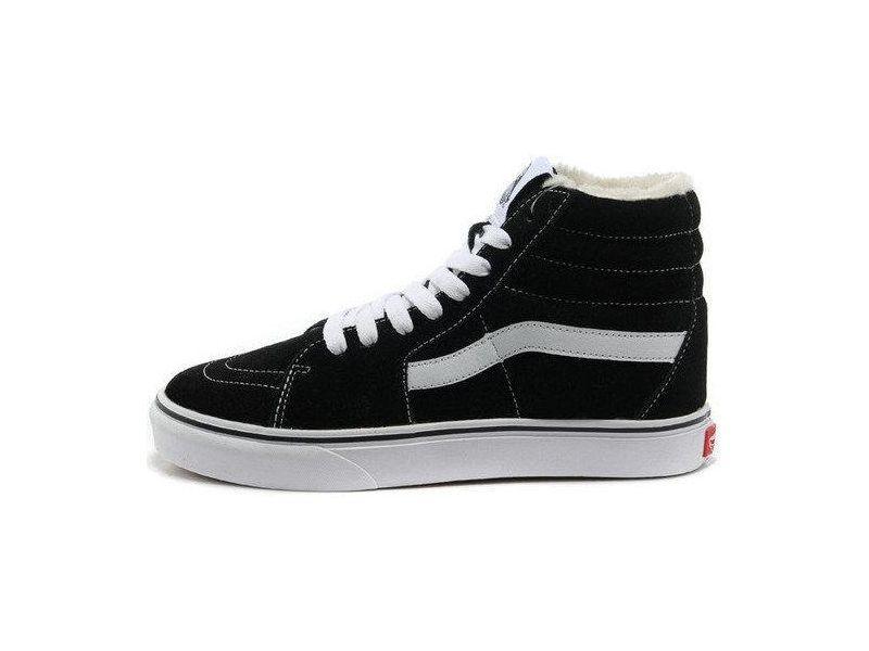 Кеди ванс венс ванси венси vans SK8 - Hi. Winter Edition Black White ... 497169aa60a4f