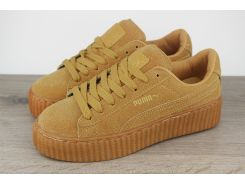 Puma by Rihanna Creeper Oatmeal low