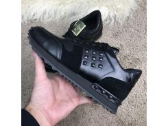 Valentino Rockstud Runner Low Black