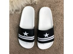 Givenchy Slide Sandal Star Black
