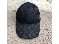 Baseball Hat Gucci Web GG Supreme Canvas Black