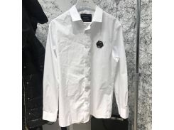 Shirt Philipp Plein Platinum Casino White