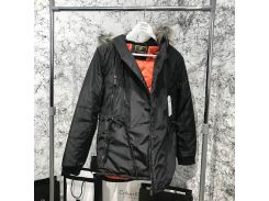 Parka Caswera Skew Black