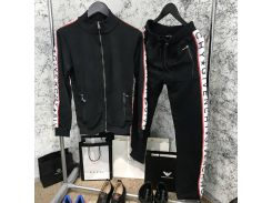 Sport Suit Givenchy Side Bands Black