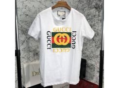 Gucci Logo Cotton T-shirt White