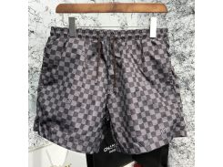 Louis Vuitton Swimming Trunks Damier Graphite