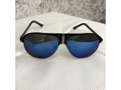 Louis Vuitton Sunglasses Mascot 70013 Blue/Black