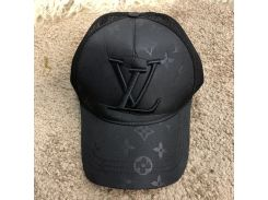 Baseball Hat Louis Vuitton Rag Monogram Black