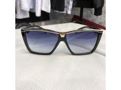 Prada Sunglasses Cinéma Logo 276 Black/Gold