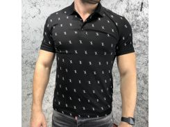 Billionaire Polo Polo Shirt SS Kyle Black