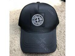 Baseball Hat Stone Island Rag Logo Black/White