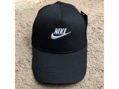 Baseball Cap Nike Swoosh Embroidered Black