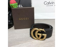 Belt Gucci Double G Buckle Gold/Black