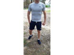Летний спортивный комплект(шорты и футболка) UA Blue/LightGray