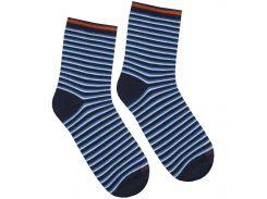 Детские носки в полосочку, Duna, тёмно-синие, 20-22 (31-34)
