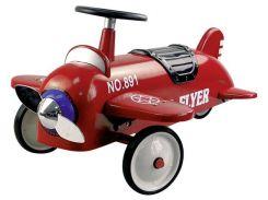 Толокар Ретро самолёт, красный, Goki