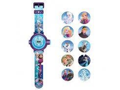 Годинник «Крижане серце» з проектором на 10 зображень , Frozen