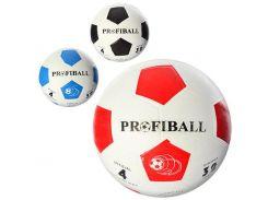 Мяч футбольный VA 0018  размер 4, Profi