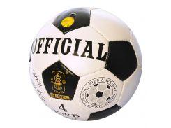 Мяч футбольный MS 1719-4  Official размер 4, ББ