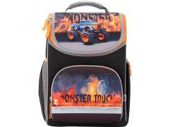 Рюкзак школьный каркасный 701 Monster Truck K17-701M-2
