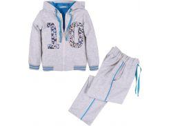 Спортивный костюм для мальчика, Flash, серый (134 р.)