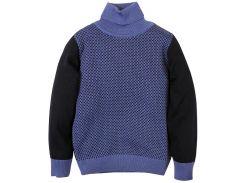 Гольф для мальчика, Flash, темно-синий, голубой (140 р)