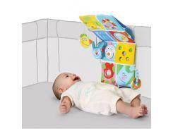 Веселые друзья - развивающий центр для кроватки (звук, свет), Taf Toys