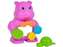 Игровой набор для ванной Бегемотик с черепашкой, ABC