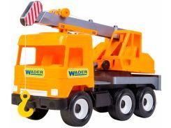 Кран Middle Truck City, 38 см, Wader