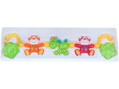 Брязкальце на коляску Радість, салатовая лошадь, Canpol babies