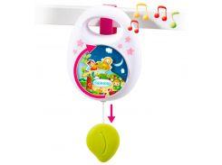 Музыкальная подвеска Cotoons Спокойной ночи, механическая (розовый цвет), Smoby Toys