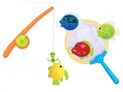 Рыбалка с удочкой и сачком, игрушка для купания, BeBeLino