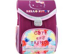 Рюкзак школьный каркасный 529 Hello Kitty HK17-529S