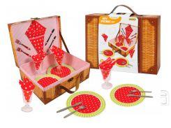 Игровая посуда для пикника, 21 предмет, Champion