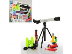 Детский набор  игровой 7004A  микроскоп, Telescopes