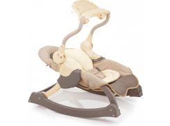 Кресло-качалка MusiCozzi Magic со звуком и светом (шоколадный), Weina