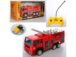 Пожарная машина игрушка TR678-187-8-9  на радиоуправлении, ББ