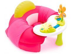 Детское кресло Cotoons с игровой панелью, розовое, Smoby toys