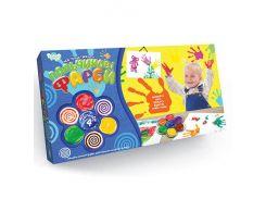 """Пальчикові фарби """"Моя перша творчість"""" 4 кольори укр. , Danko Toys"""