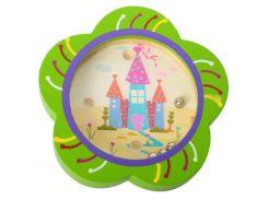 Деревянная игрушка Развивающая игрушка лабиринт MD 0706  цветочек, ББ