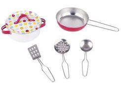 Посуда, игровой набор, 6 элементов, Goki