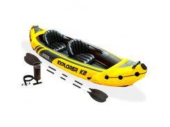 Лодка EXPLORER-K2 KAYAK 68307  312-91-51 см, Intex