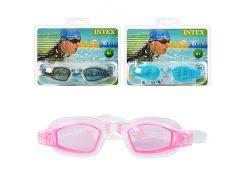 Очки для плавания 55682  защита от УФ-лучей, Intex