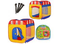 Палатка детская игровая M 0505  куб, МЭТР Плюс