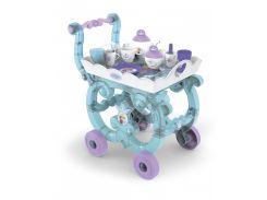 Детская тележка-столик с чайным сервизом Frozen, Smoby Toys