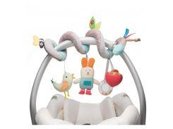 Развивающая спираль для коляски и автокресла В садике, Taf Toys