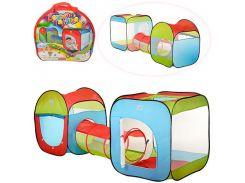 Палатка детская игровая M 2503  с тоннелем, ББ