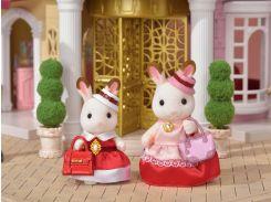 Шоколадные кролики в нарядной одежде, Sylvanian Families