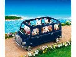 Семейный автомобиль на 7 персон (синий), Sylvanian Families